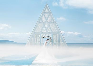 滨海水晶教堂婚礼 套餐