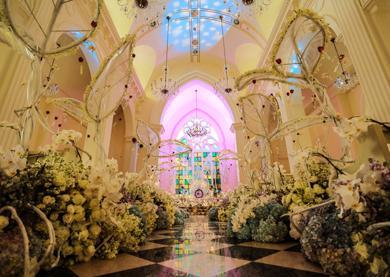 三亚半山半岛洲际 婚礼案例