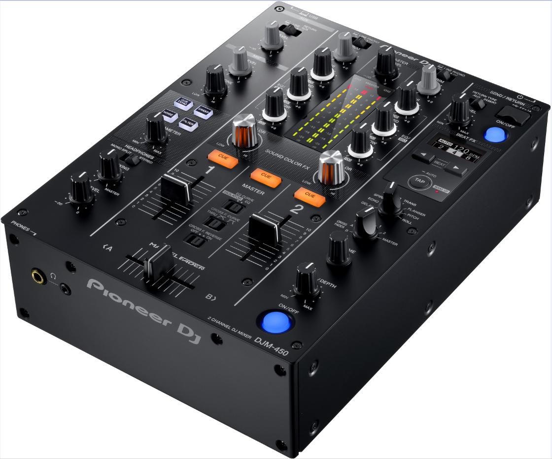 先锋DJM-450MK2混音台
