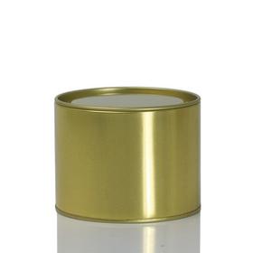 金色 铁罐 通用空白铁罐