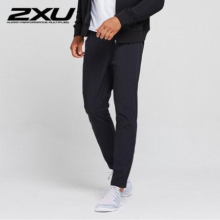 2XU男士运动长裤 秋冬季防风速干户外越野裤子 专业跑步