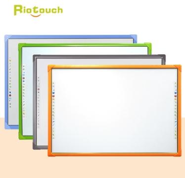 新乡十点触控彩色教学专用红外电子白板触摸一体家特价送软件