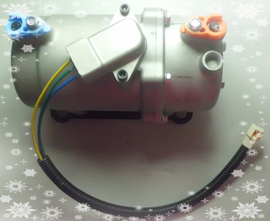 电动汽车、环卫车空调涡旋式压缩机DC48V/60V/72V/84V/96v