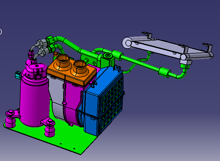三轮车空调解决方案