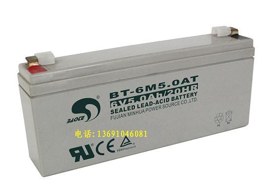 BT-6M5.0AT(6V5.0Ah)