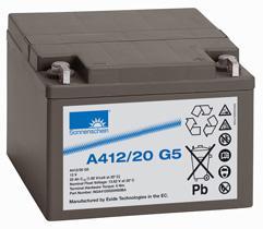 A412/20 G5,12V20AH