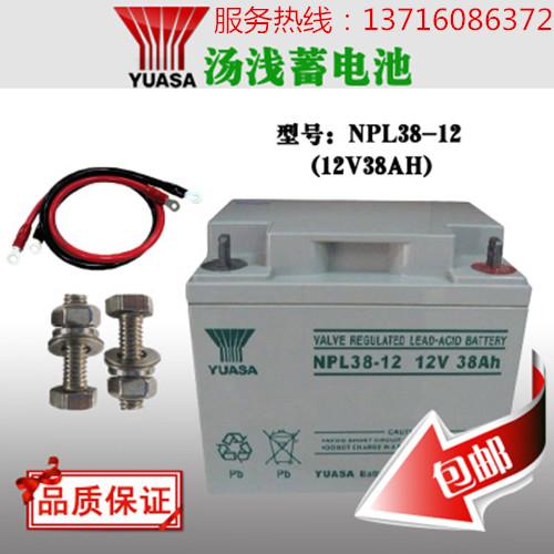 汤浅蓄电池NPL38-12参数