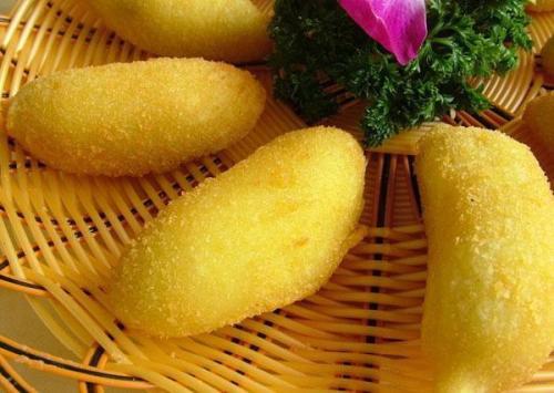 【油炸培训】脆皮香蕉技术培训 脆皮香蕉做法培训班 脆皮香蕉培训学校