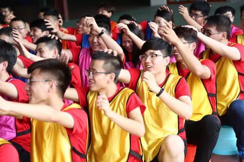 团队拓展训练之交流体操
