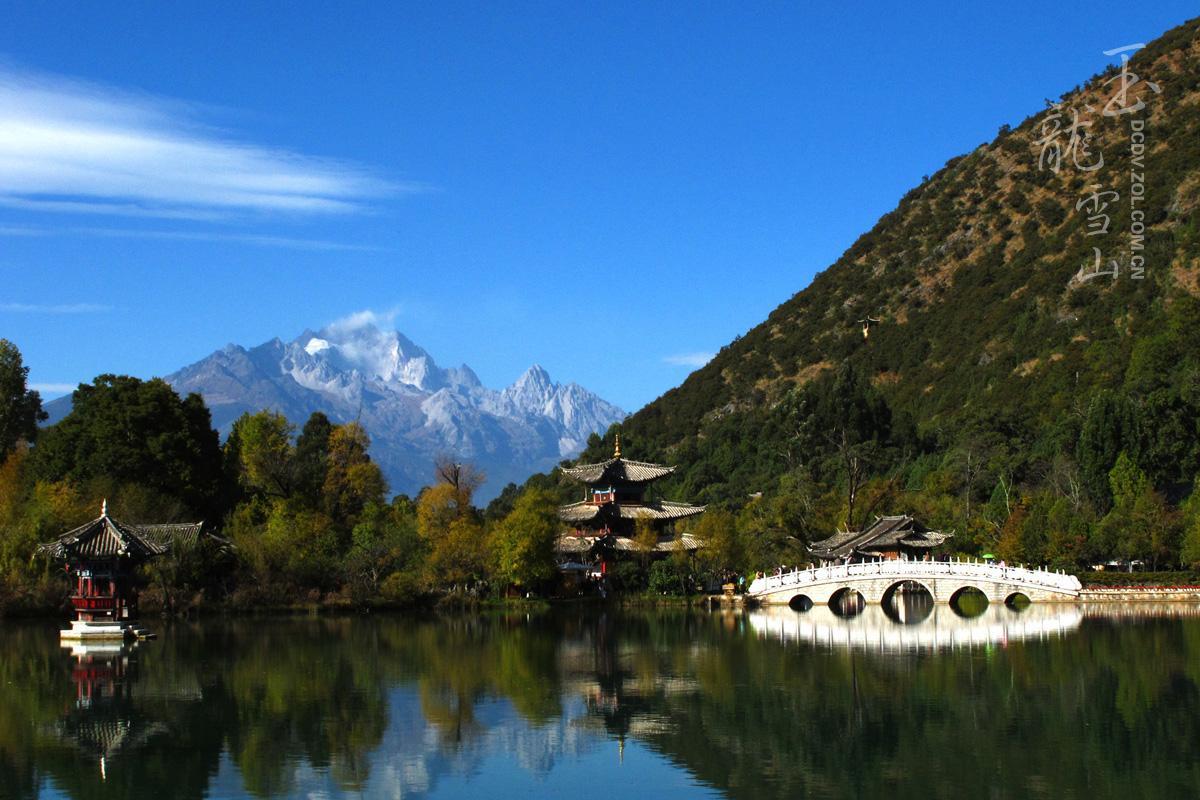 云南玉龙雪山风景区图片欣赏