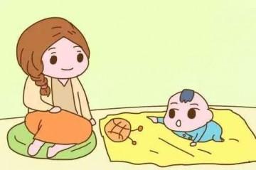 0~12个月的小宝宝可以做的早教小游戏,大脑越玩越聪明!--妍禧家政育儿