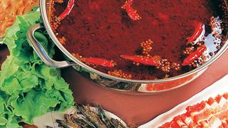 红酸汤火锅