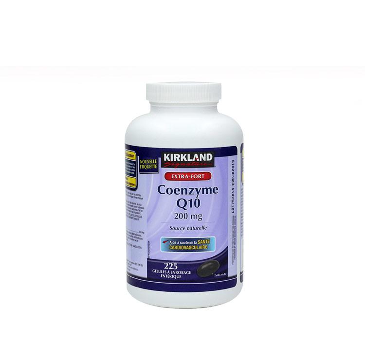 加拿大直邮代购kirkland心脏辅酶Q10软胶囊原装进口正品 225粒
