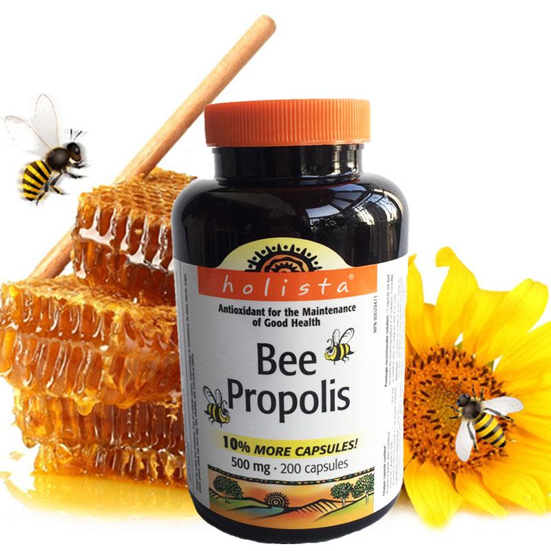加拿大代购 Holista Bee Propolis高纯度天然蜂胶软胶囊 200粒