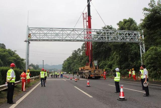 湖南省取消高速公路省界收费站工程