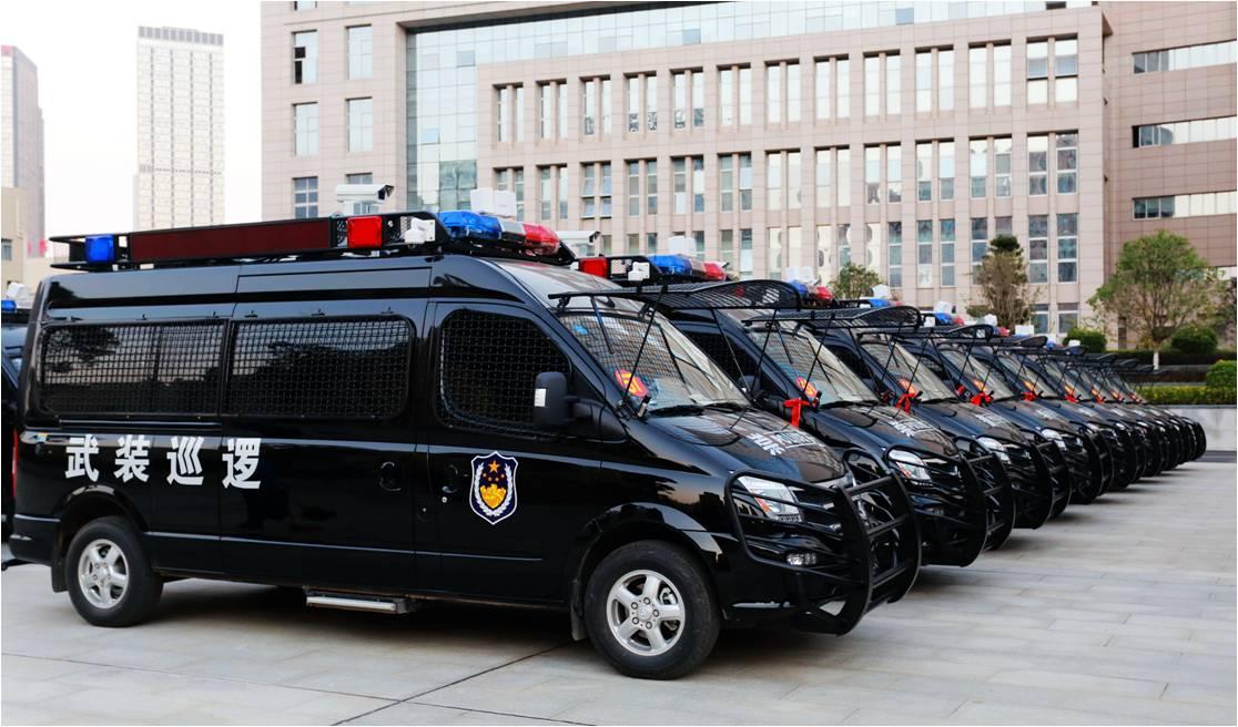 广西汽车集团有限公司98辆反恐武装巡逻车正式交付广西反恐防暴战场