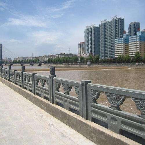 城市绿化石栏杆