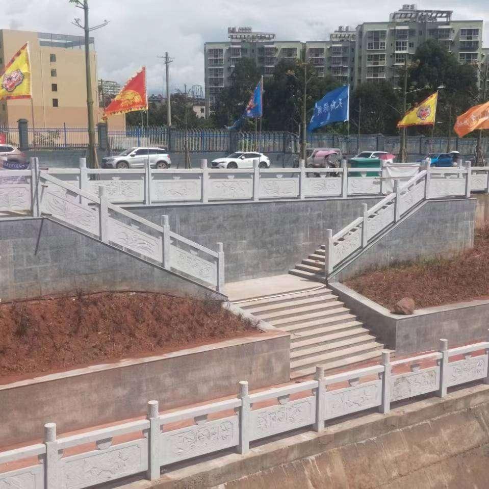 青石栏杆项目施工