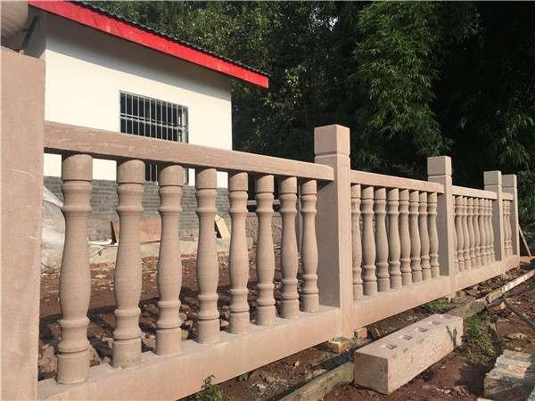 四川花瓶柱石欄杆_成都翰林石材擁有良好口碑