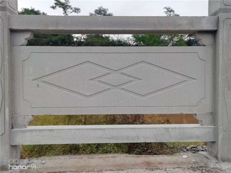 四川菱形線雕石欄杆_成都翰林石材服務至上
