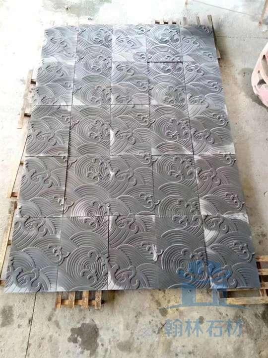 翰林青石雲紋磚雕_成都翰林石材質優價廉