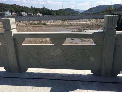河堤欄杆河道護欄——成都翰林石材價格實惠