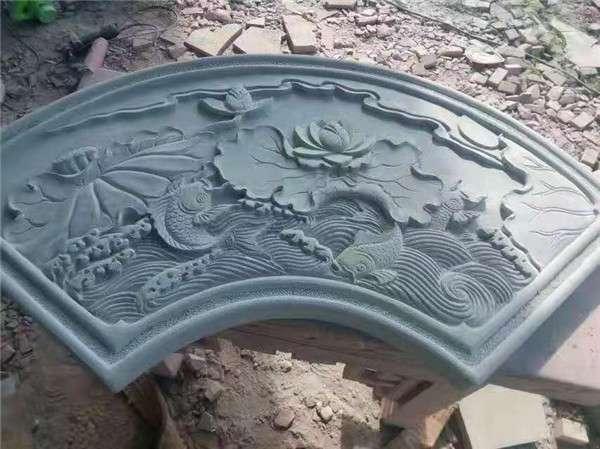 庭院入門裝飾板雕