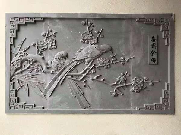 中式庭院磚雕裝飾