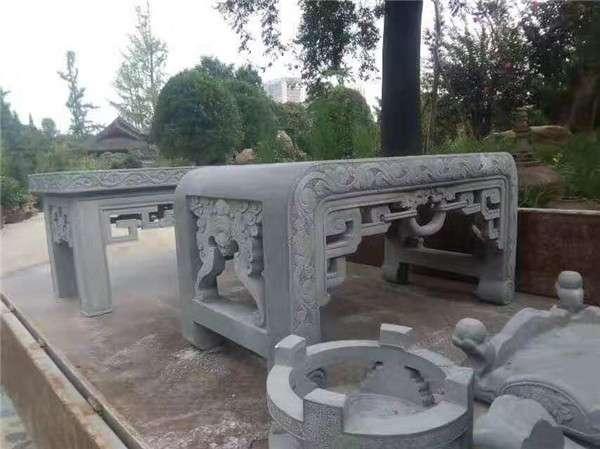 石雕香炉案台祭祀石鼎