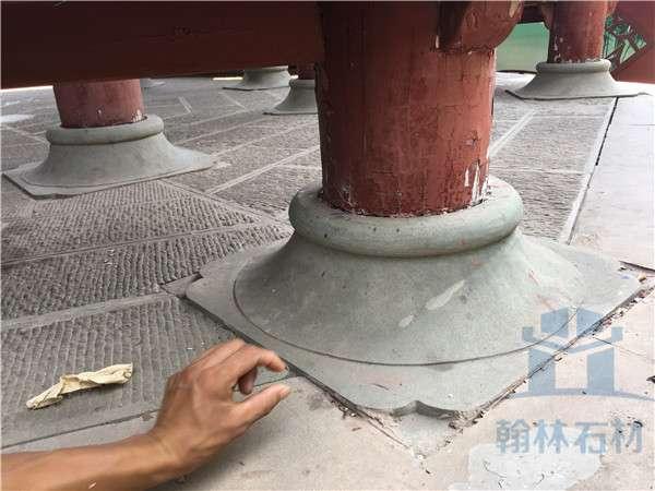 石雕柱墩柱礎裝飾