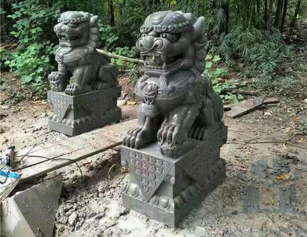 石狮子动物石雕