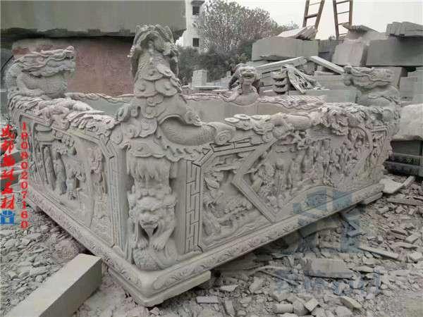 青石水缸雕刻厂家定制