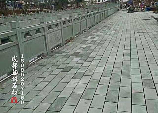 四川青石栏杆图片