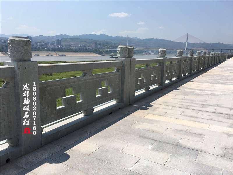 四川青石镂空栏杆款2