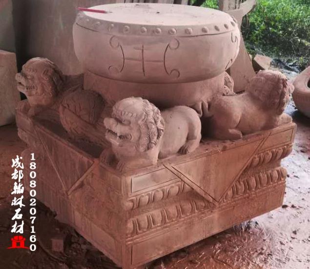 四川红砂岩雕刻