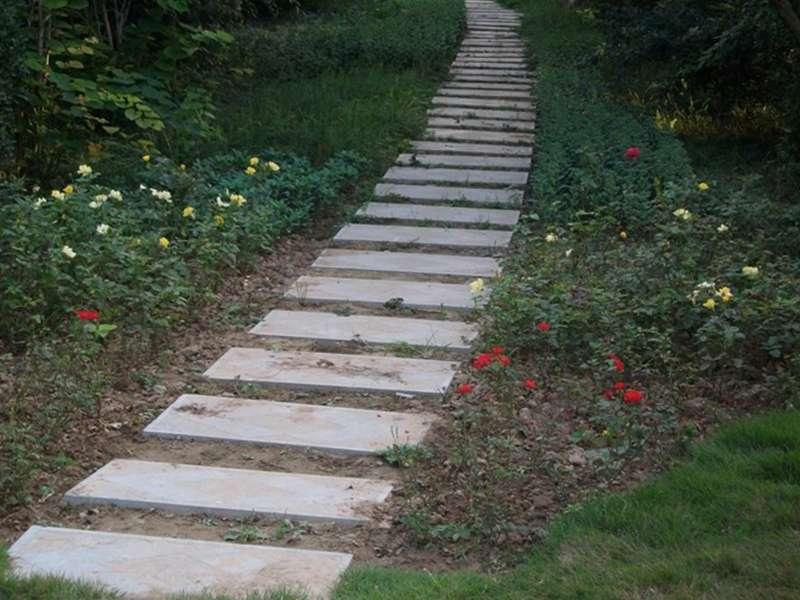 青石踏步石