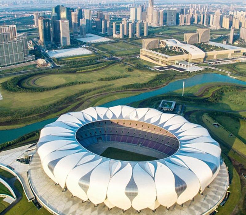 杭州奥体博览城G20峰会主场室外市政园林配套工程