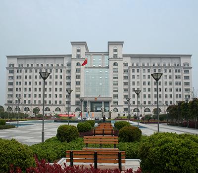 金华婺城区政府大楼及广场装饰工程