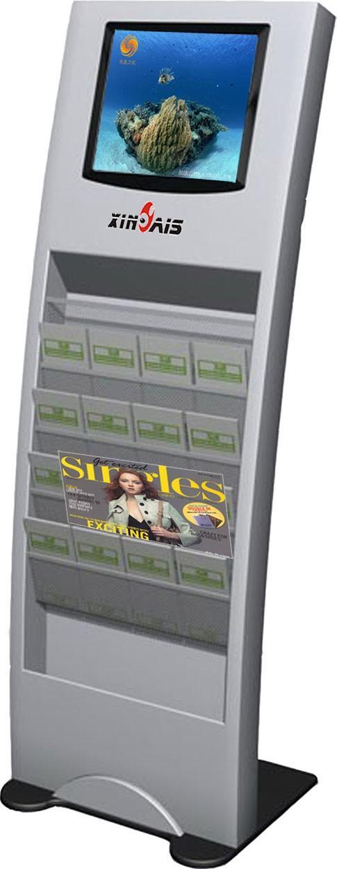 17寸落地式广告机