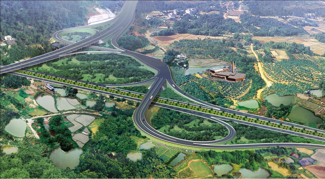 案例:贵州六盘水机场高速公路