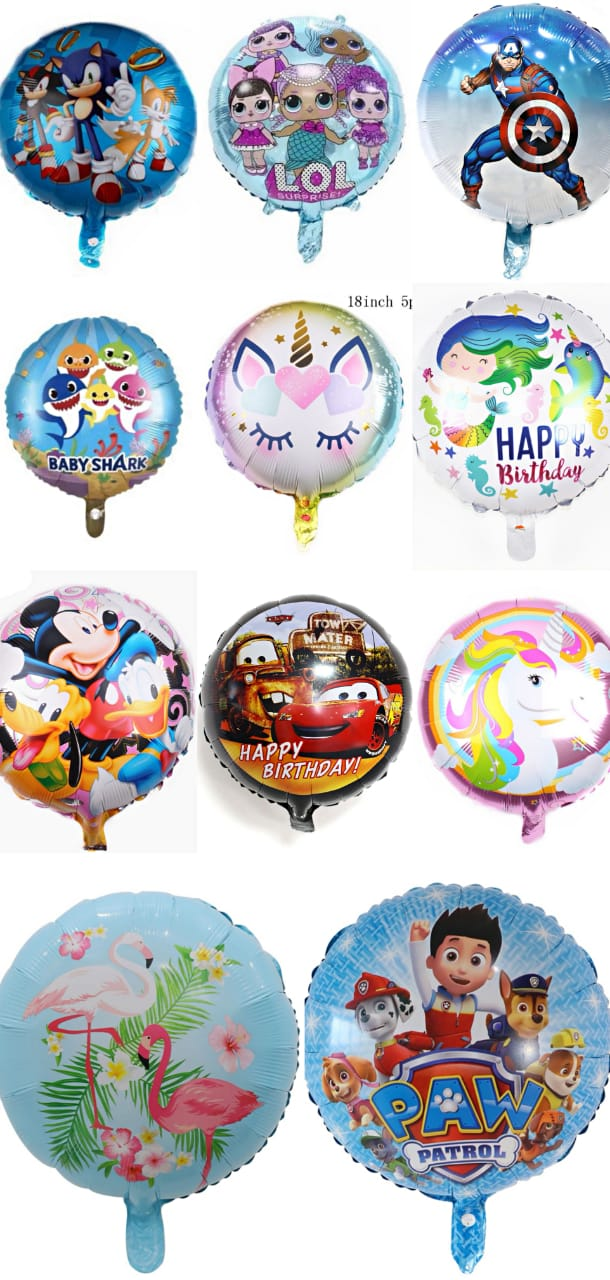 18inch Cartoon balloons
