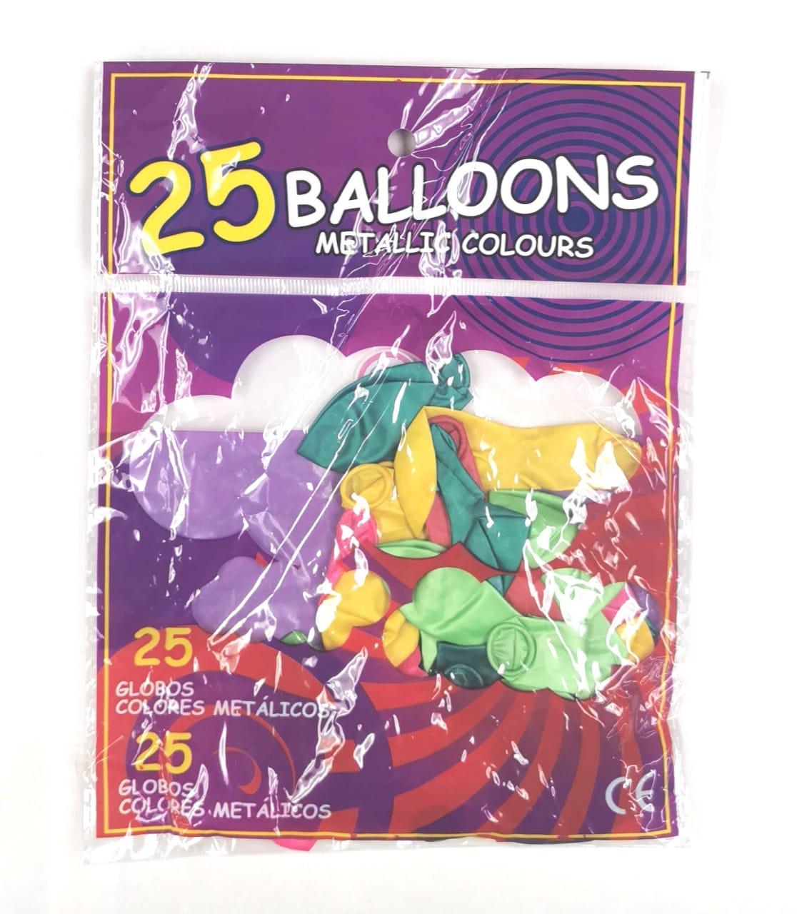 25PCS BALLOONS