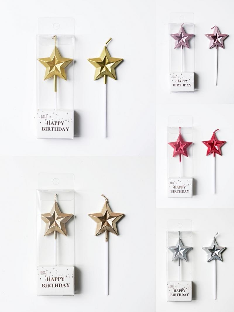 Diamond Star/Love Candles