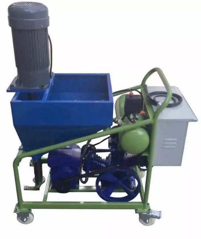 防水机械之水泥砂浆灌浆机与喷涂机的应用